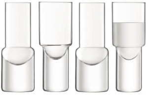 Набор из 4 стопок vodka 50 ml