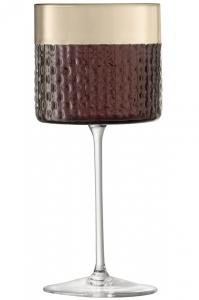 Набор из 2 бокалов для вина Wicker 320 ml коричневый