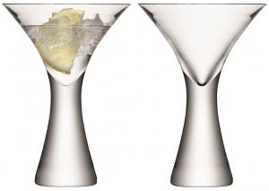 Набор из 2 бокалов для коктейлей Moya 300 ml