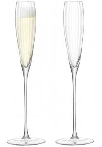Набор из 2 бокалов-флейт для шампанского Aurelia 165 ml