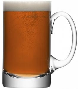 Кружка для пива прямая Bar 750 ml