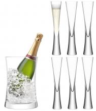 Набор для сервировки шампанского moya прозрачный