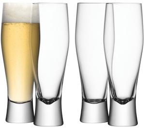 Бокалы для пива Bar 400 ml 4 шт