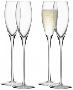 Бокал-флейта для шампанского Wine 160 ml 4 шт