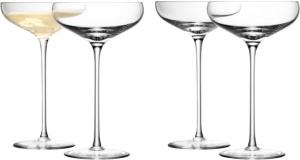 Бокал-креманка для шампанского Wine 300 ml 4 шт