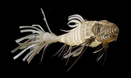 Подвесной светильник в форме рыбы KOI LS 352X175 CM 6