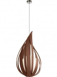 Подвесной светильник Raindrop 36X22X22 CM коричневый