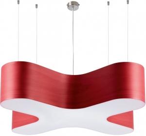 Подвесной светильник X-Club 120X120X20 CM красный