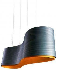 Подвесной светильник New Wave S 102X27X27 CM синий