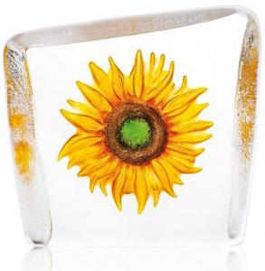 Скульптура из хрусталя Sunflower 10X9 CM