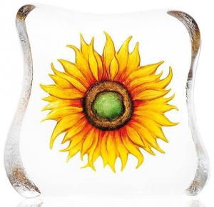 Скульптура из хрусталя Sunflower 15X15 CM