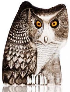 Скульптура из хрусталя Owl 8X10 CM