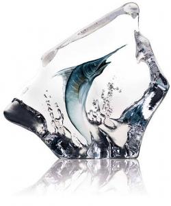 Декоративный элемент из хрусталя Blue Marlin 16X16 CM