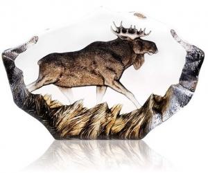 Декоративный элемент из хрусталя Moose 27X18 CM