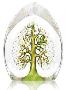 Декоративный элемент из хрусталя Yggdrasil 9X14 CM