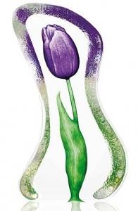 Декоративный элемент из хрусталя Tulip 8X14 CM