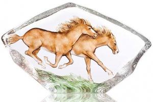 Скульптура из хрусталя Horse 26X16 CM