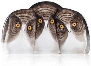 Скульптура из горного хрусталя Owls 31X18 CM