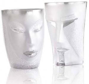 Набор стаканов из хрусталя Kubik&Electra 400 / 500 ml