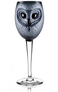 Бокал из чёрного хрусталя Strix 450 ml