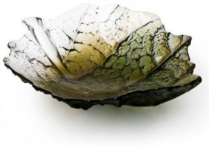 Декоративная чаша из хрусталя Folia 26X25X5 CM