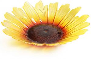 Декоративная чаша из хрусталя Sunflower Ø34 CM