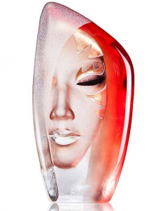 Скульптура из хрусталя Masquerade 14X27 CM