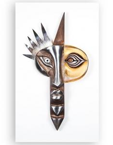 Барельеф из хрусталя стали Inka 54X89 CM