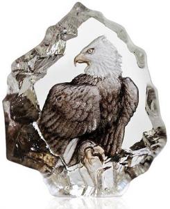 Скульптура из хрусталя Bald Eagle 6X7 CM