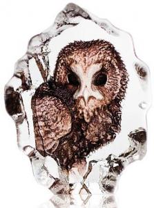 Скульптура из хрусталя Owl 5X6 CM