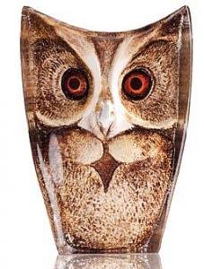 Скульптура из хрусталя Owl 5X8 CM