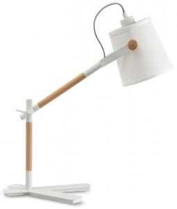 Лампа для рабочего стола Nordica 50X16X58 CM белого цвета