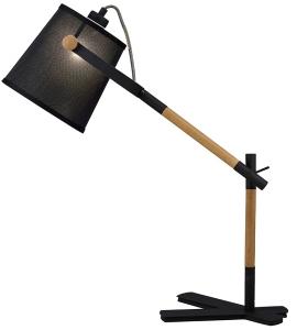 Лампа для рабочего стола Nordica 50X16X58 CM чёрного цвета