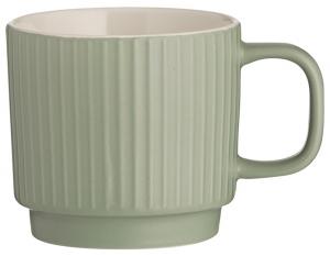 Чашка Embossed 355 ml зелёная