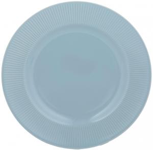 Обеденная тарелка Linear Ø27 CM синяя