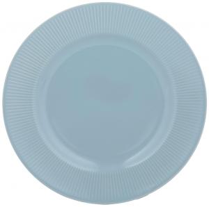 Тарелка Linear Ø21 CM синяя