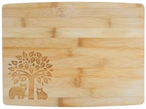 Доска разделочная из бамбука in the Forest 32X21 CM