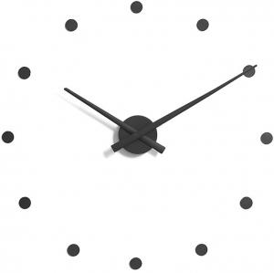 Настенные часы OJ Ø50 CM чёрные