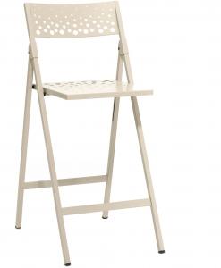Складной барный стул Moon 98X44X59 CM бежевый