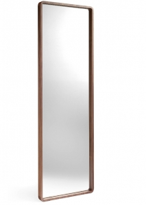 Зеркало с рамой из шпона грецкого ореха 60X190 CM
