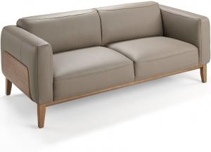 Кожаный диван 5353-3P 209X92X77 CM