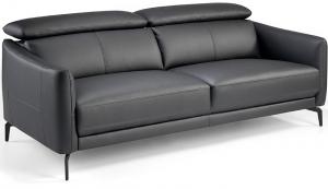 Кожаный диван с регулируемыми спинками Incanto 197X100X94 CM