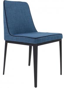 Современный дизайнерский стул A107 44X50X81 CM синий