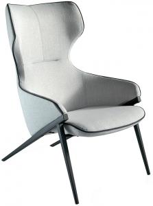 Кресло на стальном каркасе Incanto 70X90X102 CM
