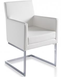 Кресло Atelier 57X57X87 CM белое