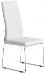 Обеденный стул с высокой спинкой BZ615 49X58X104 CM белое