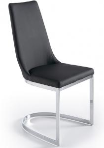 Дизайнерский стул C0105 45X56X96 CM чёрный