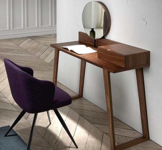 Туалетный столик с зеркалом Atelier 120X45X126 CM 2