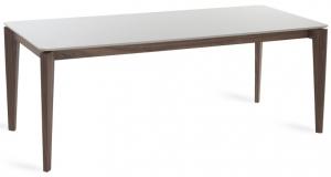 Обеденный стол с каркасом из ореха Atelier 200X90X75 CM