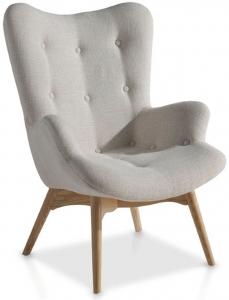 Кресло в скандинавском стиле DC917 70X80X92 CM
